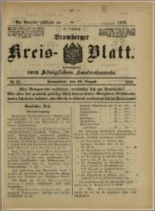 Bromberger Kreis-Blatt, 1916, nr 66