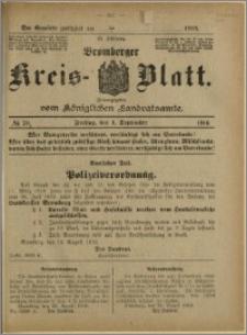 Bromberger Kreis-Blatt, 1916, nr 70