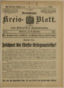 Bromberger Kreis-Blatt, 1916, nr 71