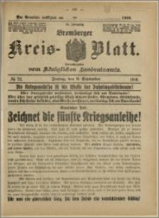 Bromberger Kreis-Blatt, 1916, nr 72