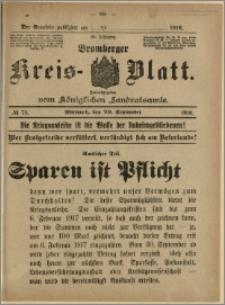 Bromberger Kreis-Blatt, 1916, nr 75