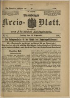 Bromberger Kreis-Blatt, 1916, nr 76