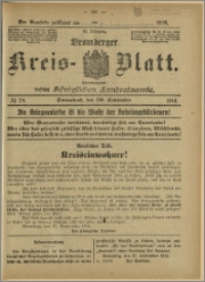 Bromberger Kreis-Blatt, 1916, nr 78