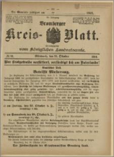 Bromberger Kreis-Blatt, 1916, nr 81