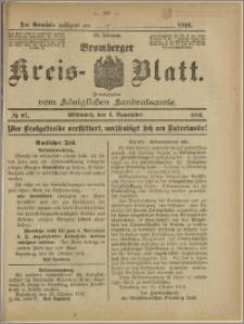 Bromberger Kreis-Blatt, 1916, nr 87
