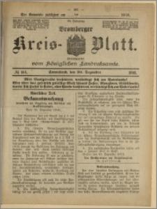 Bromberger Kreis-Blatt, 1916, nr 104