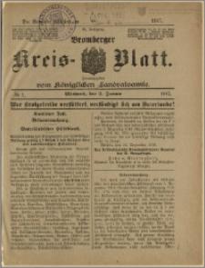 Bromberger Kreis-Blatt, 1917, nr 1