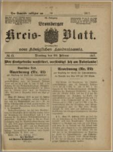Bromberger Kreis-Blatt, 1917, nr 15