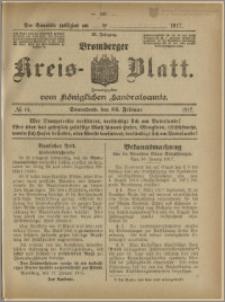 Bromberger Kreis-Blatt, 1917, nr 16