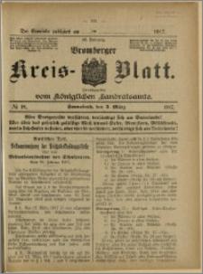 Bromberger Kreis-Blatt, 1917, nr 18