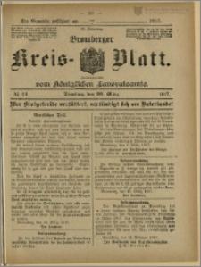 Bromberger Kreis-Blatt, 1917, nr 23
