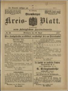 Bromberger Kreis-Blatt, 1917, nr 29