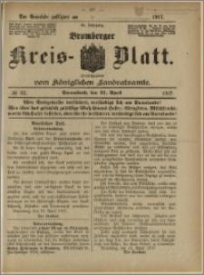Bromberger Kreis-Blatt, 1917, nr 32
