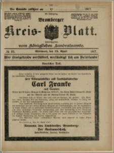 Bromberger Kreis-Blatt, 1917, nr 33