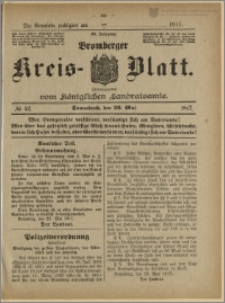 Bromberger Kreis-Blatt, 1917, nr 42