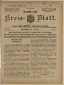 Bromberger Kreis-Blatt, 1917, nr 46