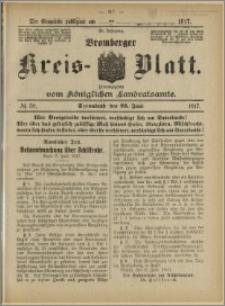 Bromberger Kreis-Blatt, 1917, nr 50