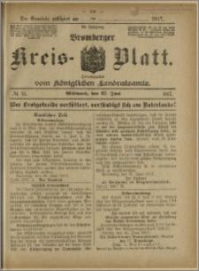 Bromberger Kreis-Blatt, 1917, nr 51