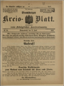 Bromberger Kreis-Blatt, 1917, nr 54