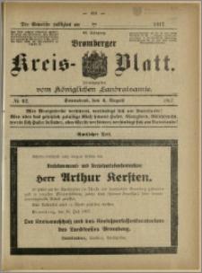 Bromberger Kreis-Blatt, 1917, nr 62