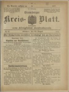 Bromberger Kreis-Blatt, 1917, nr 67