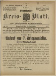 Bromberger Kreis-Blatt, 1917, nr 74