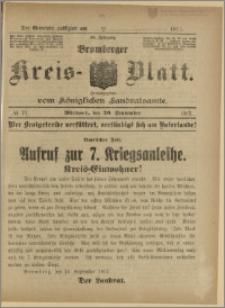Bromberger Kreis-Blatt, 1917, nr 77