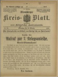Bromberger Kreis-Blatt, 1917, nr 79