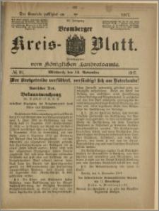 Bromberger Kreis-Blatt, 1917, nr 91