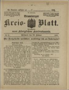 Bromberger Kreis-Blatt, 1918, nr 15