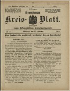 Bromberger Kreis-Blatt, 1918, nr 17