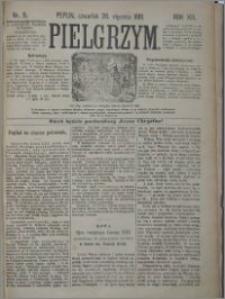 Pielgrzym, pismo religijne dla ludu 1881 nr 9