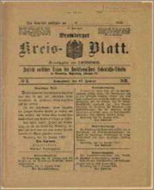 Bromberger Kreis-Blatt, 1920, nr 5