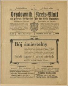 Orędownik na Powiat Bydgoski, 1920, nr 61