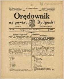 Orędownik na Powiat Bydgoski, 1921, nr 22