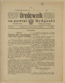 Orędownik na Powiat Bydgoski, 1922, nr 37