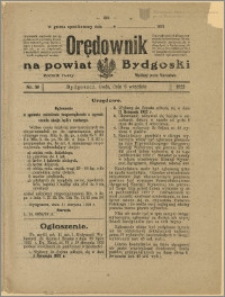 Orędownik na Powiat Bydgoski, 1922, nr 39
