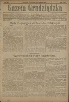 Gazeta Grudziądzka 1917.11.01 R.23 nr 129 + dodatek