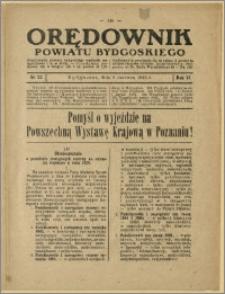 Orędownik Powiatu Bydgoskiego, 1929, nr 23
