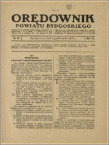Orędownik Powiatu Bydgoskiego, 1929, nr 40