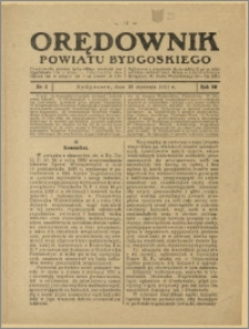 Orędownik Powiatu Bydgoskiego, 1931, nr 4