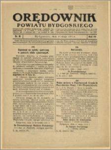 Orędownik Powiatu Bydgoskiego, 1931, nr 19