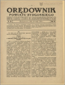 Orędownik Powiatu Bydgoskiego, 1931, nr 20