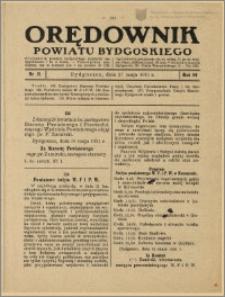 Orędownik Powiatu Bydgoskiego, 1931, nr 21