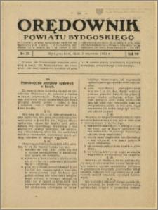 Orędownik Powiatu Bydgoskiego, 1931, nr 22