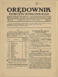 Orędownik Powiatu Bydgoskiego, 1931, nr 25