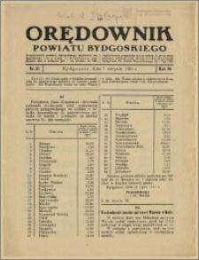 Orędownik Powiatu Bydgoskiego, 1931, nr 31