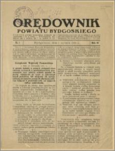 Orędownik Powiatu Bydgoskiego, 1932, nr 1