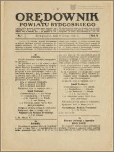Orędownik Powiatu Bydgoskiego, 1932, nr 7