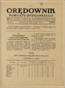 Orędownik Powiatu Bydgoskiego, 1932, nr 20